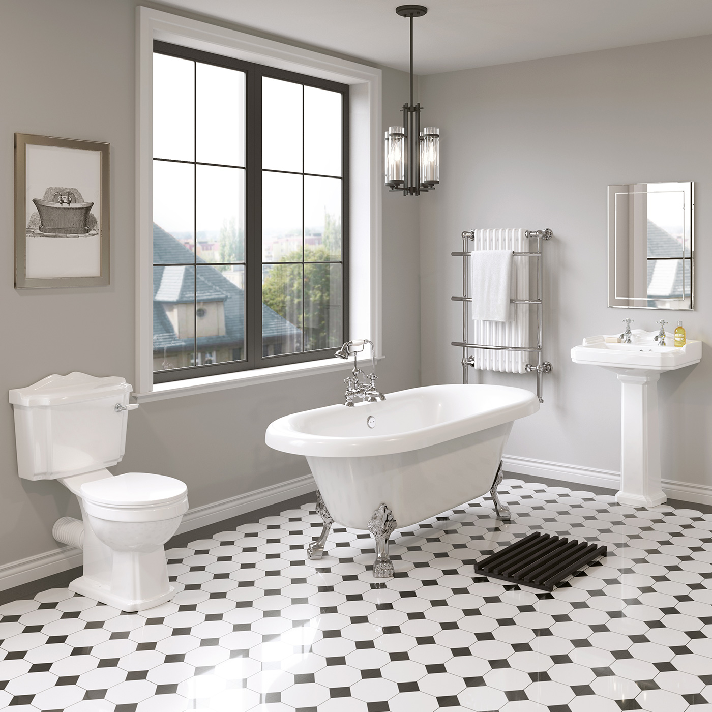 Bathroom suites accessories woodhouse sturnham ltd for Bathroom suite ideas